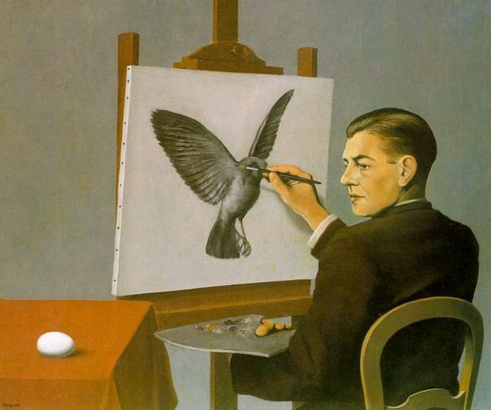 «Предвидение» (автопортрет), 1936