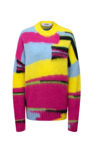 Женский свитер MSGM, 38 450, руб. (ЦУМ)