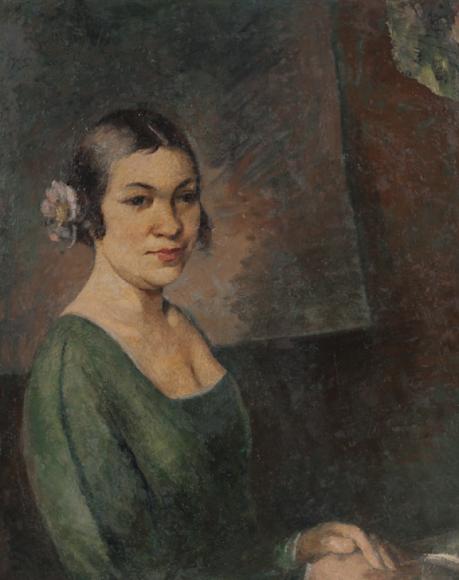 Александр Шевченко. «Портрет жены художника», 1920-е
