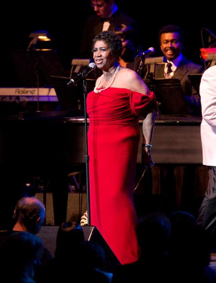 ВыступлениеАретыФранклин в нью-йоркском «Радио-Сити-Мьюзик-Холл», 14 июня 2014
