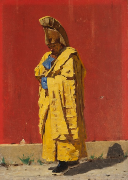 «Калмыцкий лама».1873