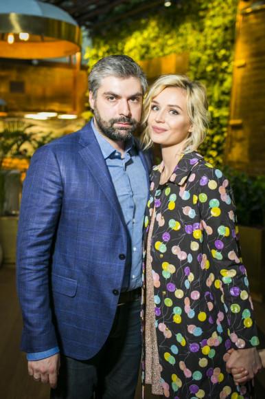 Дмитрий Исхаков (фотограф) и Полина Гагарина (певица)