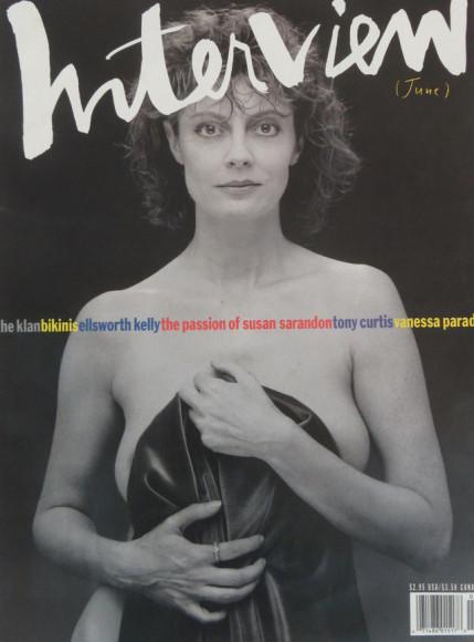 Сьюзан Сарандон, обложка 1991 года