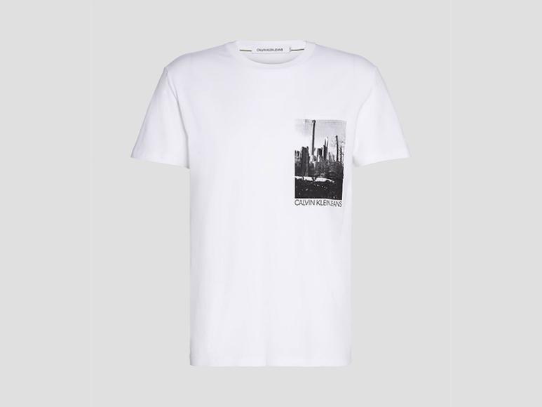 Мужская футболка Calvin Klein Jeans, 4300 руб. (Calvin Klein Jeans)
