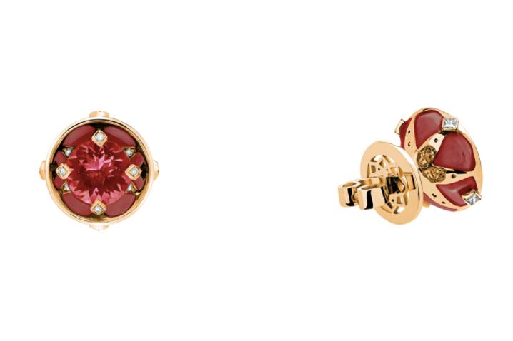 """Серьги """"Цветок жизни"""", Dzhanelli Jewellery"""