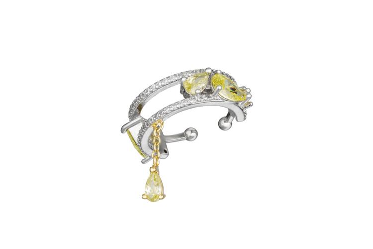 Кафф Сaviar Jewellery, 4200 руб. (caviarjewellery.ru)