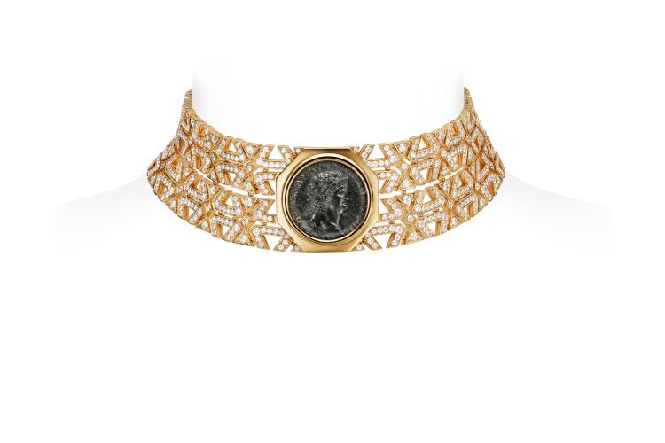 Чокер Monete Weave, бронзовая монета 54-68 годн.э., 1400 часов работы
