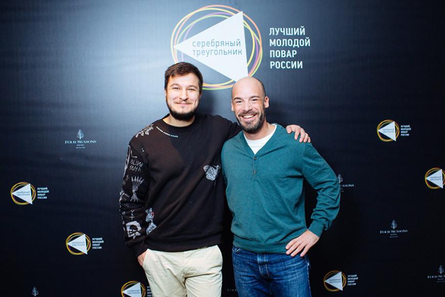 Георгий Троян («Северяне») и Режис Тригель (Brasserie Most, La Stanza)