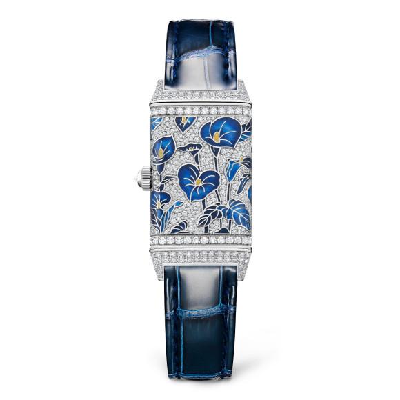 Часы Reverso One Precious Flowers Blue Arums, Jaeger-LeCoultre