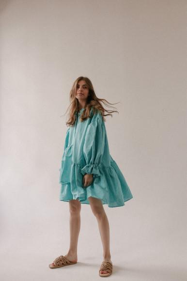 Платье-рубашка Boho Shirt изо льна, 4900 руб.