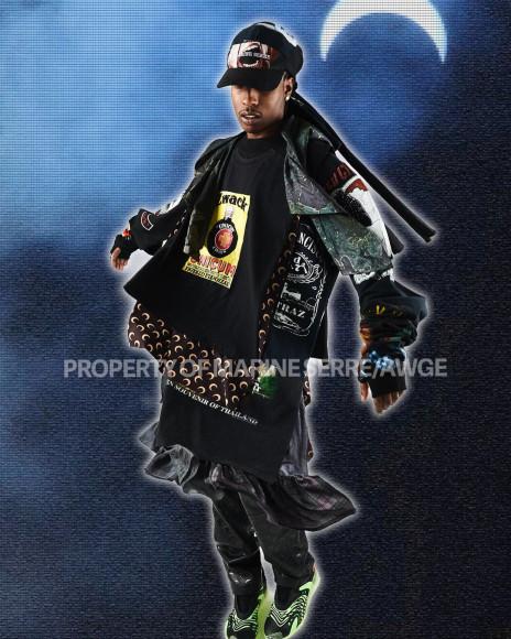 Коллаборация рэпера A$AP Rocky и бренда Marine Serre