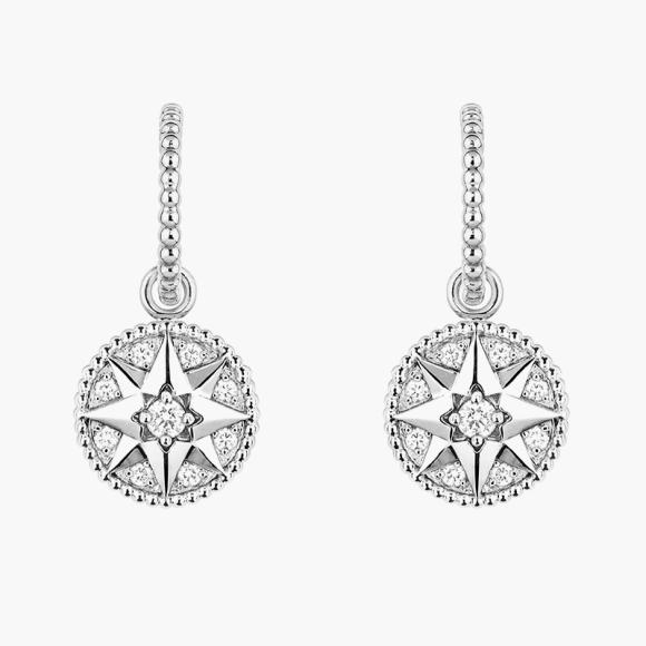 Серьги Rose des Vents, Dior, цена по запросу