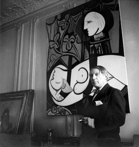 Picasso - rue de la Boétie. 1933