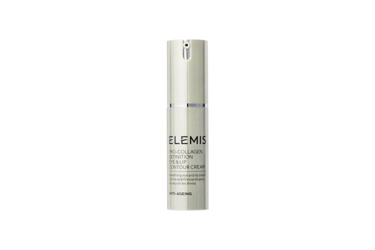 Лифтинг-крем для губ и век Pro-Definition Eye & Lip Contour Cream, Elemis включает в себя стволовые клетки эдельвейса в сочетании с экстрактом спилантеса и аминокислотами. Состав уплотняет коллагеновую сеть, придавая коже упругость, а также обладает мгновенным омолаживающим эффектом и расслабляет мелкие мышечные волокна