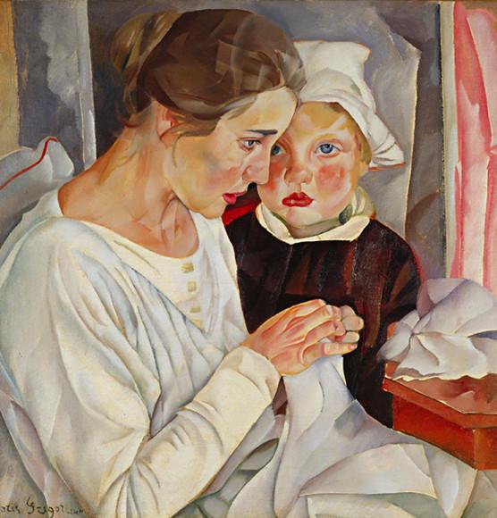Б. Д. Григорьев «Мать и дитя»