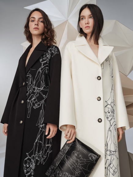 Коллекция пальто «Снежная Королева» X Ruban