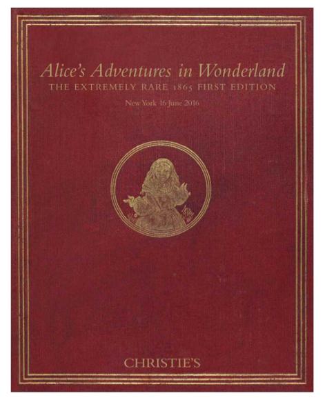 Обложка книги «Приключения Алисы в Стране чудес»