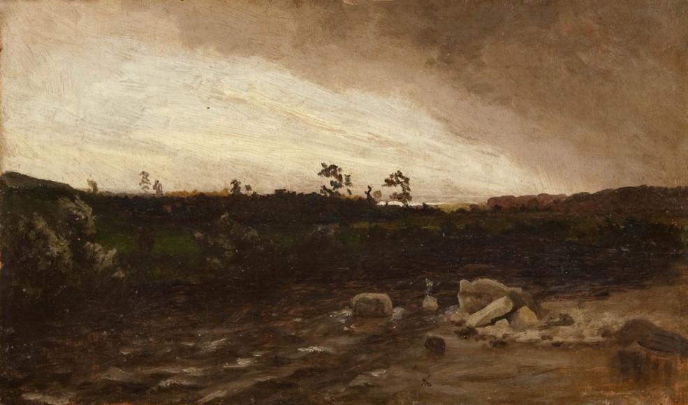 Архип Куинджи, «Перед грозой»