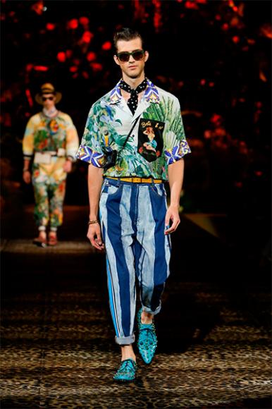 Dolce&Gabbana, весна-лето 2020