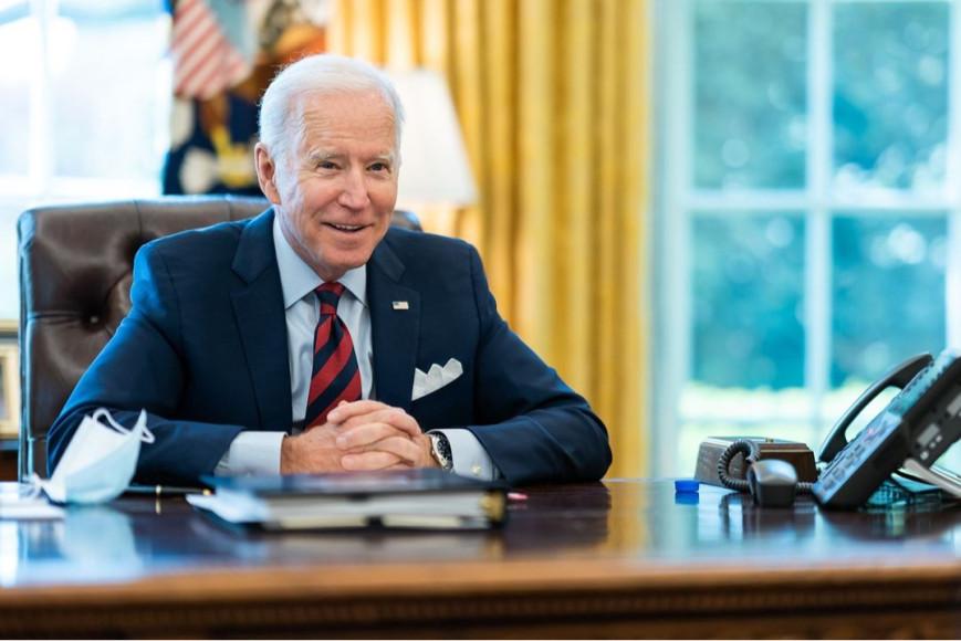 Джо Байден в Белом доме, 2021
