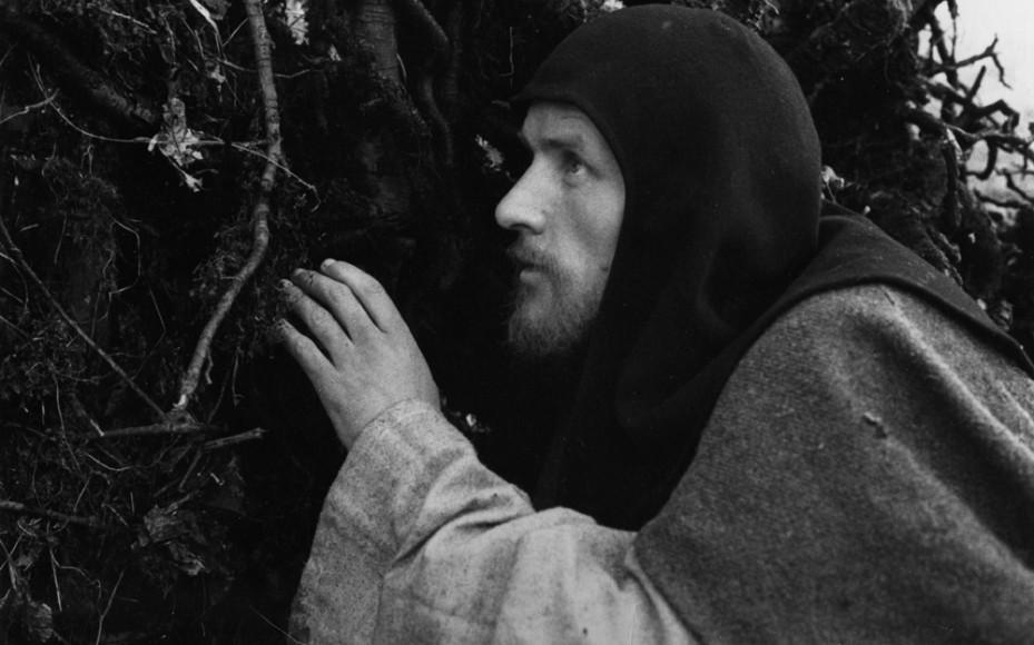 Рабочие моменты съемок фильма Андрей Рублев