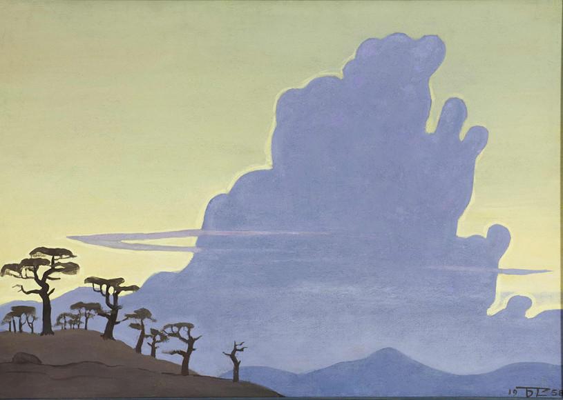 Борис Смирнов-Русецкий. «Облако», 1958