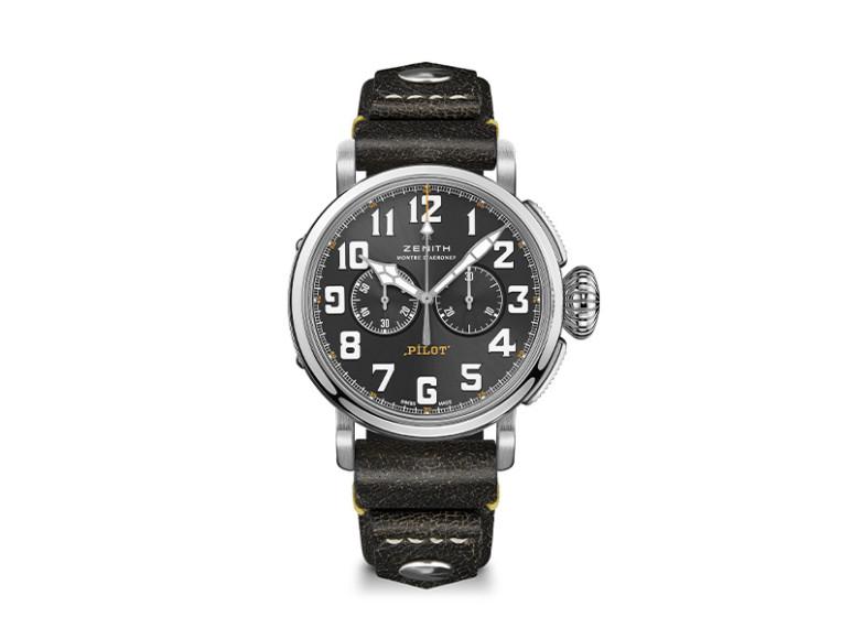 Часы Pilot Type 20 Rescue Chronograph, Zenith