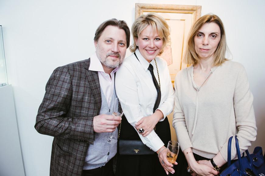Иван Глазунов, Ксения Апухтина и Анна Орлова