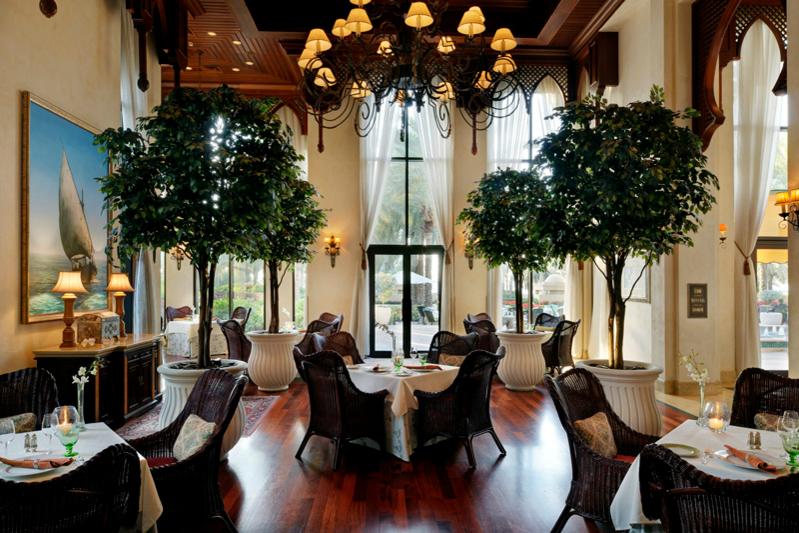 Обеденная зона, отель Residence & SPA, One&Only Royal Mirage (Дубай)