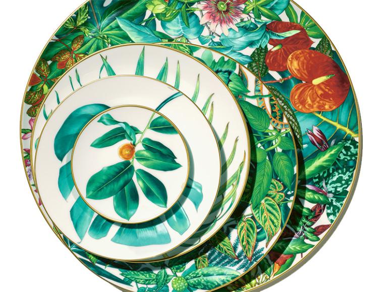 Набор тарелок Passifolia, Maison Hermès