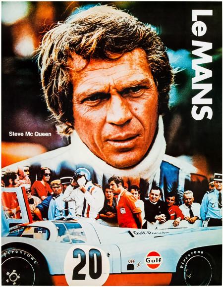 Постер к фильму «Ле Ман», 1971