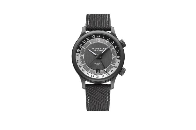 Часы L.U.CGMT One Black 42 mm, Chopard