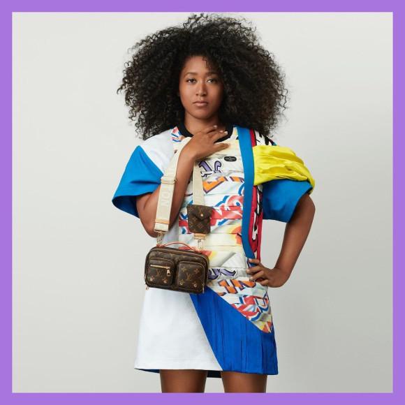 Наоми Осака в рекламной кампании Louis Vuitton, январь 2021