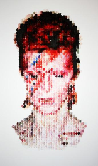 Портрет Дэвида Боуи, акварель, Nathan Manire