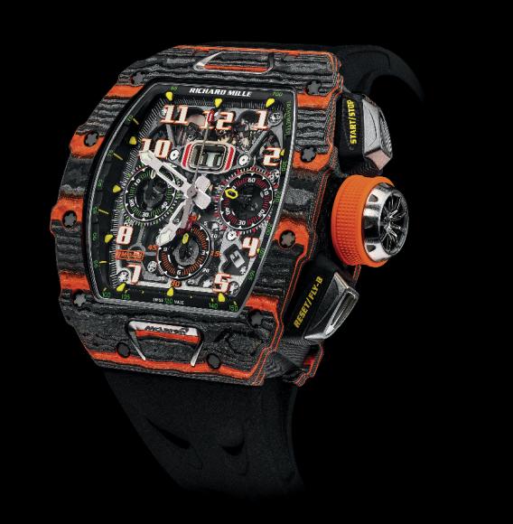 RM 11-03 Automatic flyback chronograph McLaren, Richard Mille (220–250 тыс. франков)
