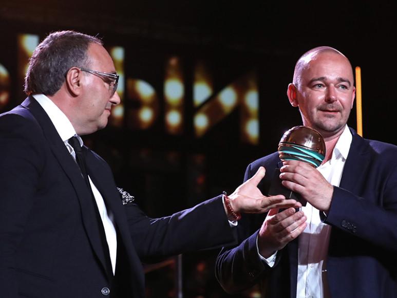 Александр Роднянский и режиссер фильма-победителя «Аритмия» Борис Хлебников