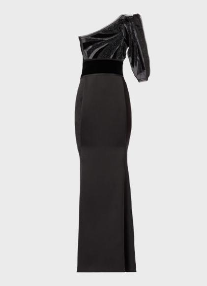 Платье Giorgio Armani, 475 000 руб. (ЦУМ)