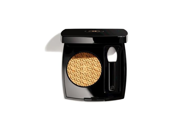 Стойкие пудровые тени для век Ombre Première, оттенок 925 Or Antique, Chanel