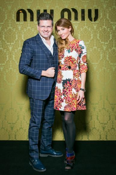 Константин Андрикопулус и Ольга Цыпкина