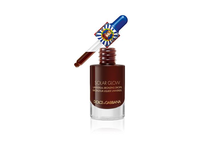 Универсальные бронзирующие капли Solar Glow, Dolce & Gabbana Beauty