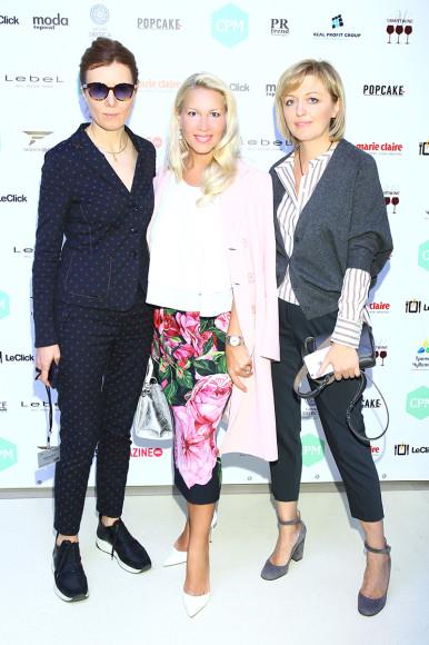 Марина Дэмченко, Екатерина Одинцова и Светлана Наумова