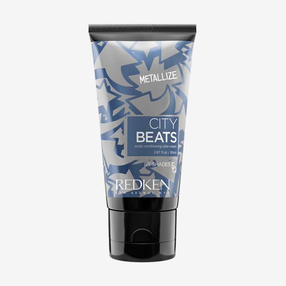 Крем для волос с тонирующим эффектом City Beats в металлическом голубом оттенке Galaxy, Redken