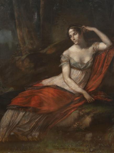 Пьер-Поль Прюдон. Портрет Жозефины, 1814 год