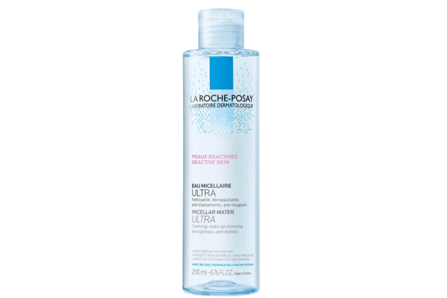 Мицеллярная вода Micellar Water Ultra, La Roche-Posay на основе мицелл и глицерина выпущена в нескольких вариациях в зависимости от типа и потребностей кожи