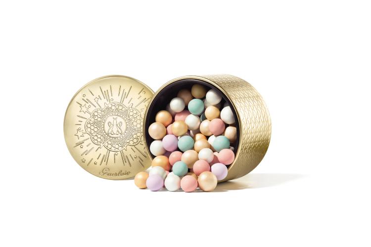 Пудра в шариках Météorites, Golden Bee, Guerlain