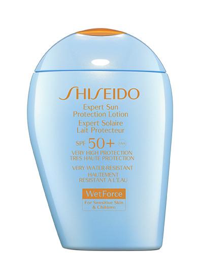 Водостойкое солнцезащитное молочко для лица и тела Expert Sun Protection Lotion SPF 50+, Shiseido