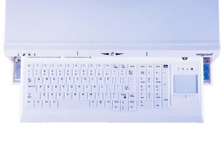 Дезинфицирующий бокс со встроенной клавиатурой Defender