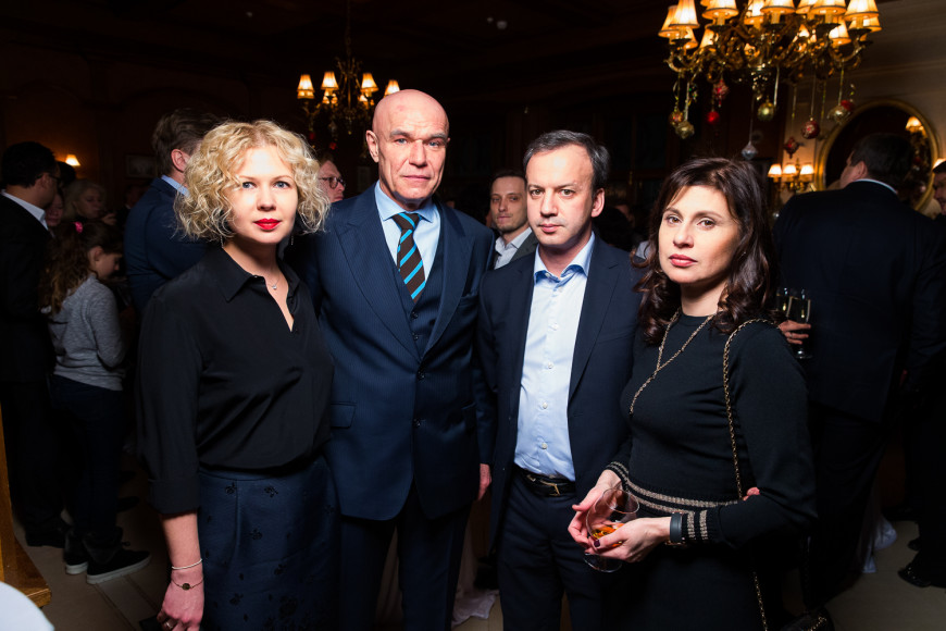 Сергей и Галина Мазаевы, Аркадий Дворкович и Зумруд Рустамова