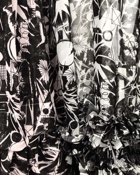 Коллекция Comme des Garçons с рисунками Протея Темена из серии «Как муравей космонавту в ухо залез»