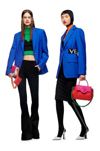 Versace, Le Muse, pre-fall 2021